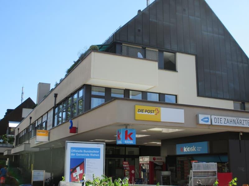 Grosse Gewerbefläche am Bahnhof Riehen