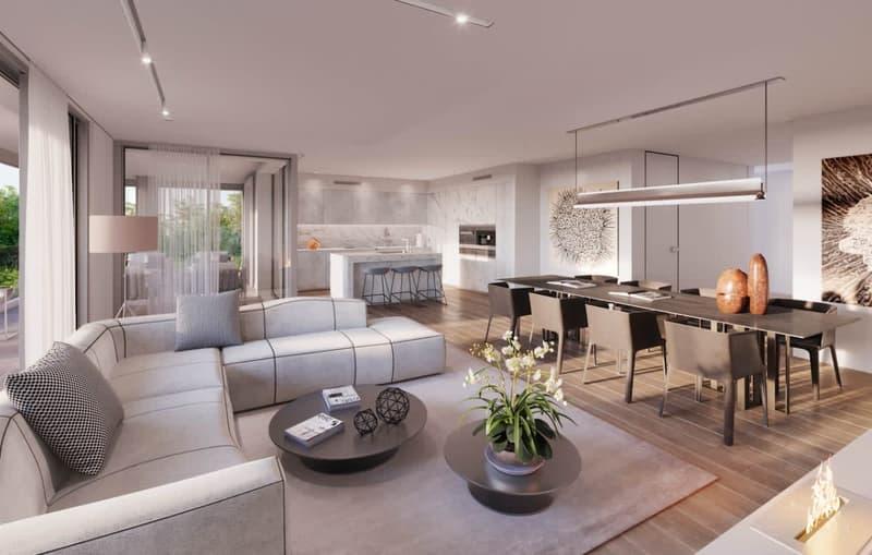 Appartement neuf au rez-de-chaussée de 275 m2 pondérés
