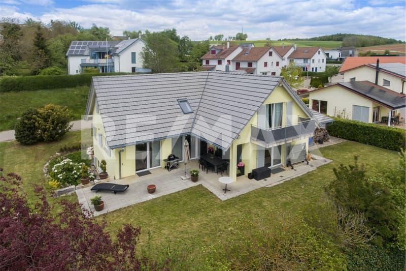 Grosszügiges 7.5 Zimmer Einfamilienhaus mit Panoramasicht (Bankengeprüft)