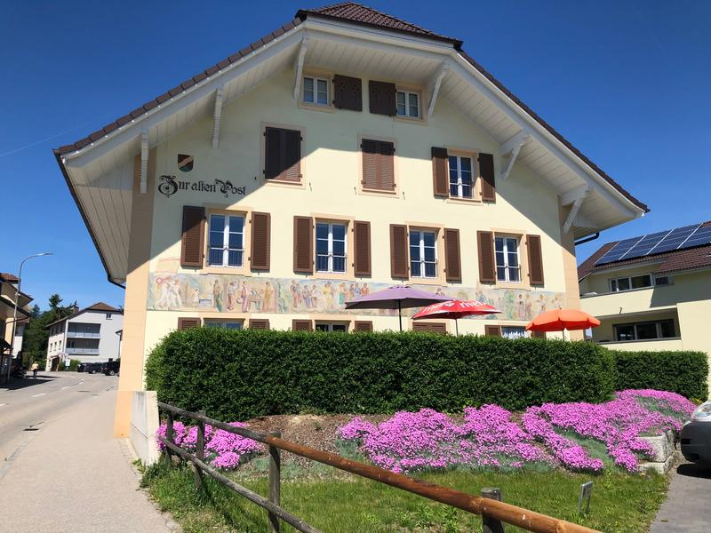 Exklusive 5.5 Dachmaisonette in der Alten Post, Brittnau inkl. 15 m2 Terrasse