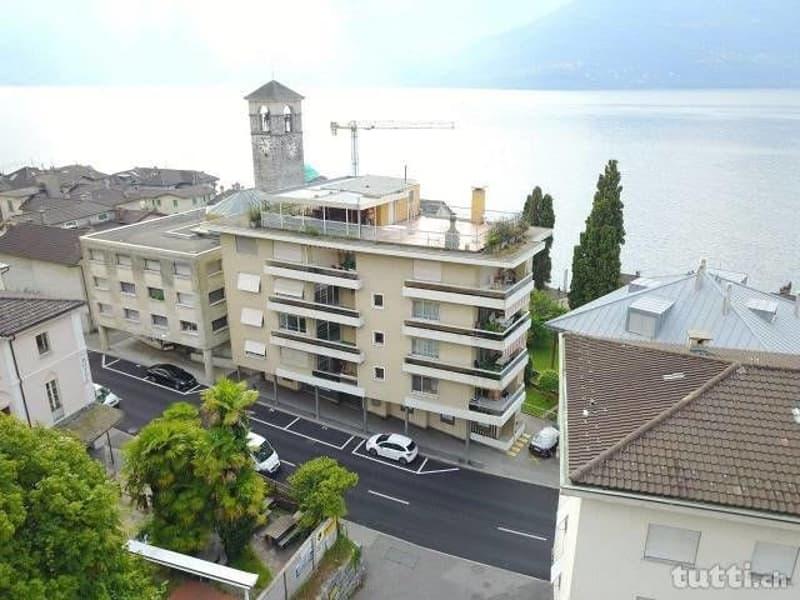 Affittasi spazioso appartamento 4.5 locali in centro Brissago
