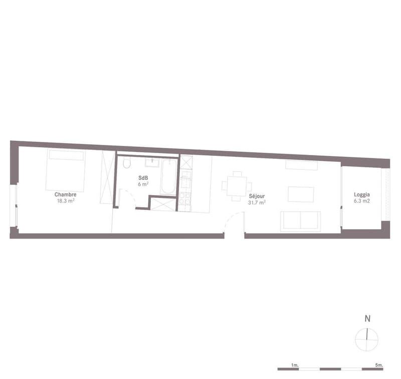 OASSIS - Appartements à louer au centre de Lausanne