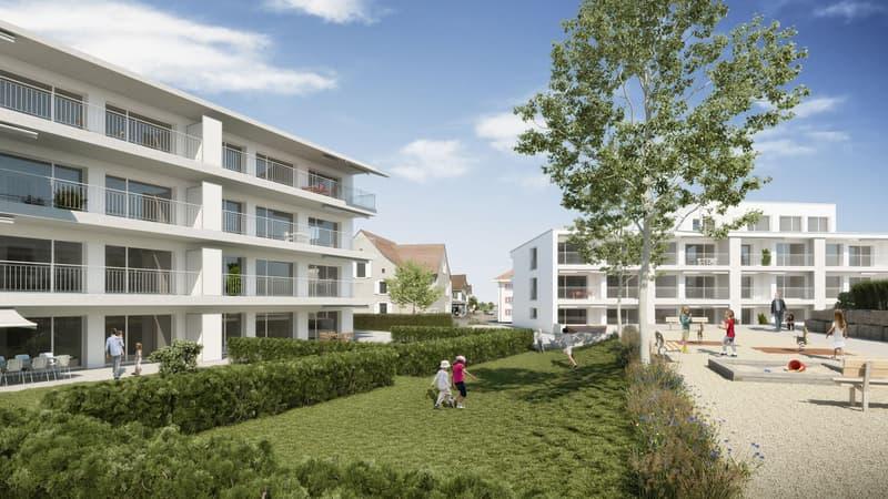 Grosszügige, moderne Eigentumswohnungen in zentral gelegenem, noch zu erstellendem 8-Familienhaus