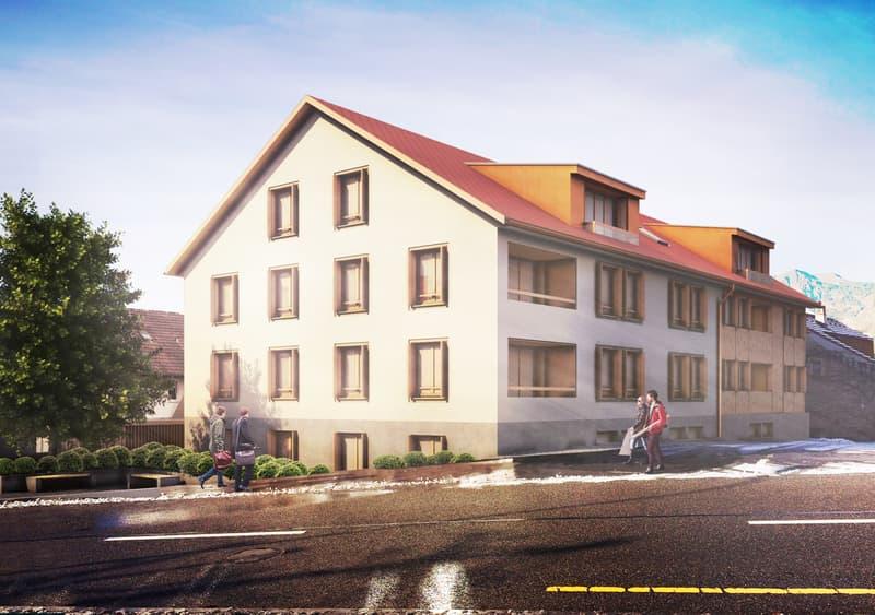 in eine herrliche und ruhige Gegend einen Projekt für ein Mehrfamilienhaus zu verkaufen!