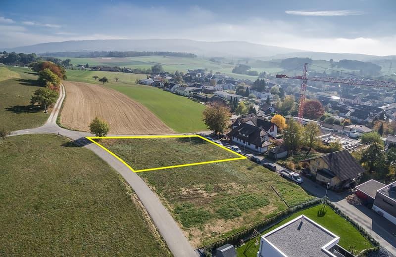 997 m² Bauland an einmaliger, unverbauter Aussichtslage