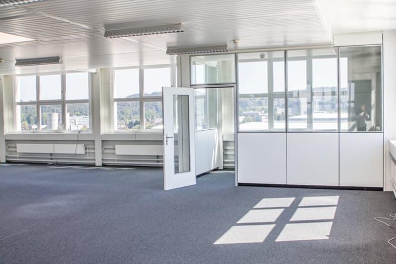 Ausgebautes Büro im Attikageschoss (1)