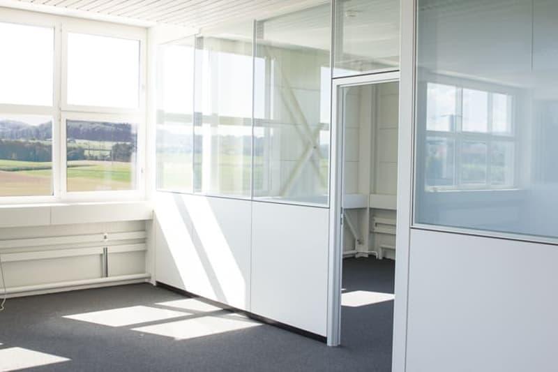 Ausgebautes Büro im Attikageschoss (2)