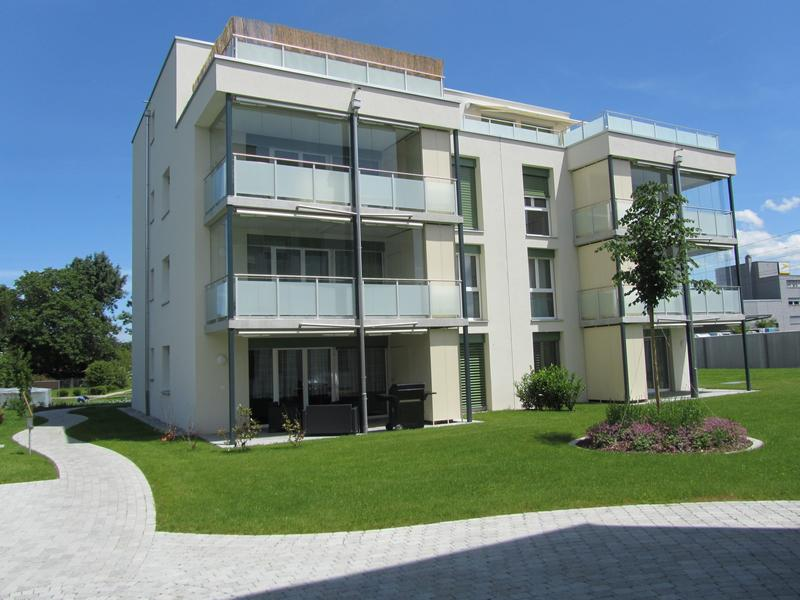 Einladende Parterre-Wohnung mit 16m² Sitzplatz
