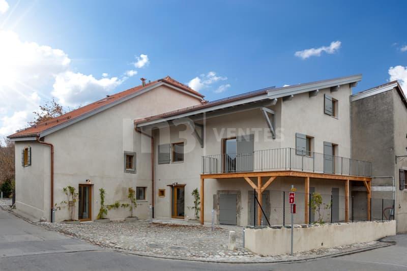 Magnifique appartement rénové de 5 pièces alliant ancien et moderne