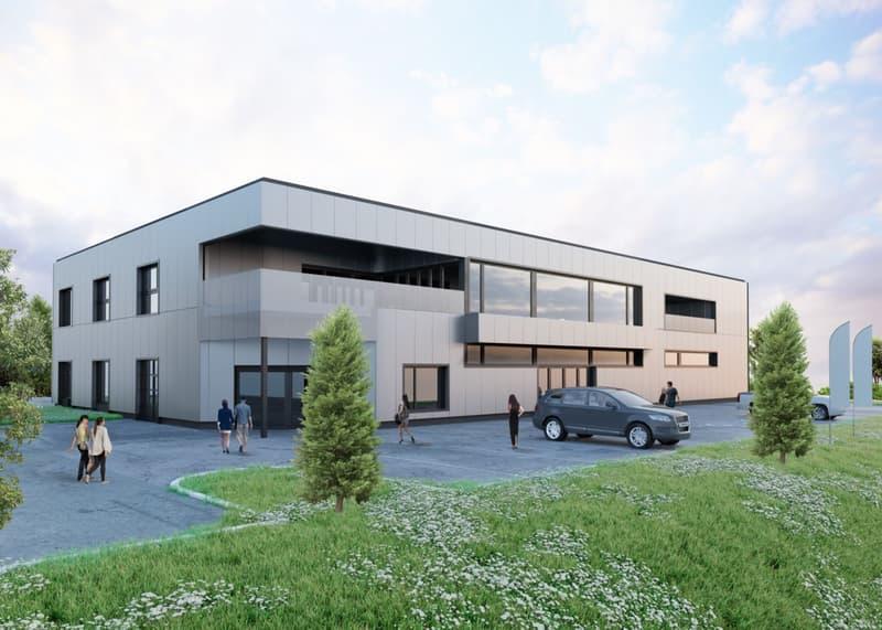 Opportunité rare! Surface commerciale et administrative de 500 m2 à l'entrée d'Echallens