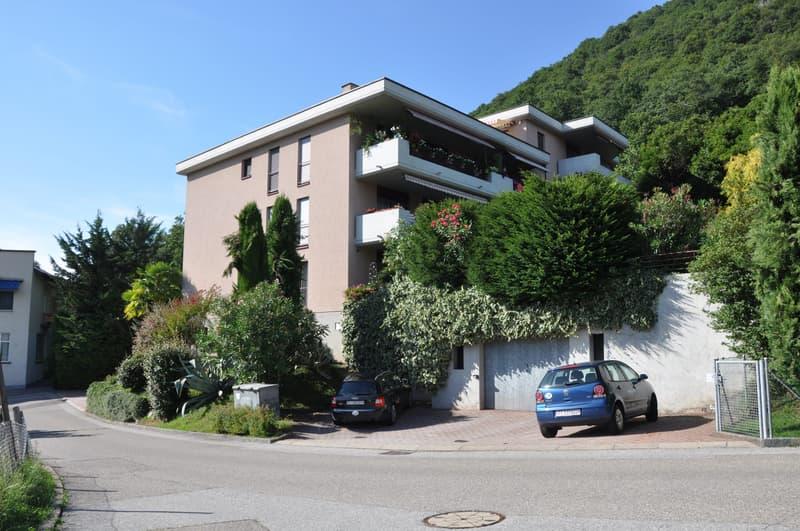 Affittasi 3.5 locali in zona TRANQUILLA a Ponte Tresa CH in collina