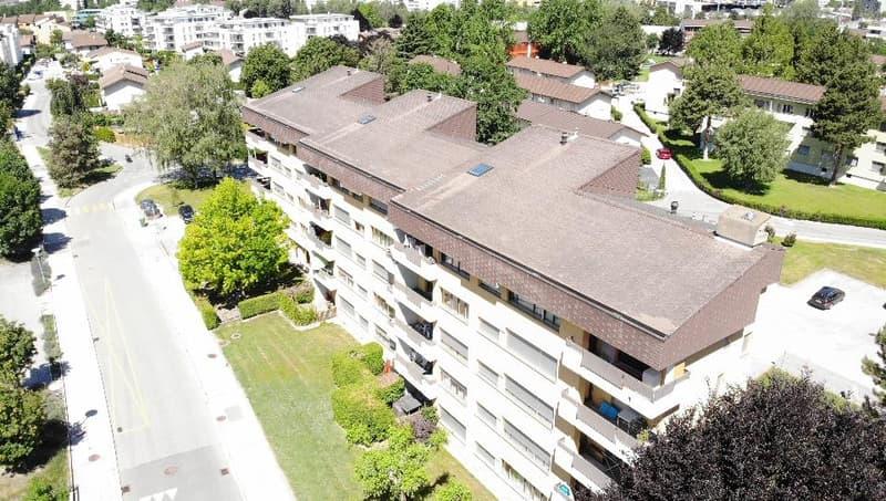 4 pièces au 1er étage sis Rue de la Pelouse 4 à 1950 SION