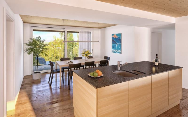 Grosszügige Familenwohnung an idyllischer Lage - Wohnung 2.D