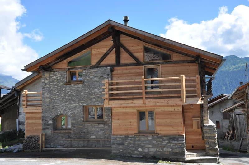 Maison villageoise 4.5 pièces de 109 m2 sur 3 niveaux