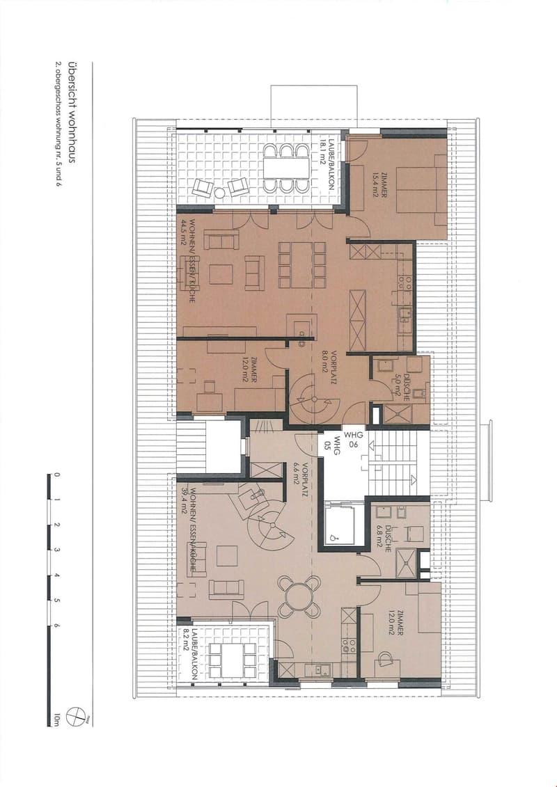 Grundrisse 2. Obergeschoss