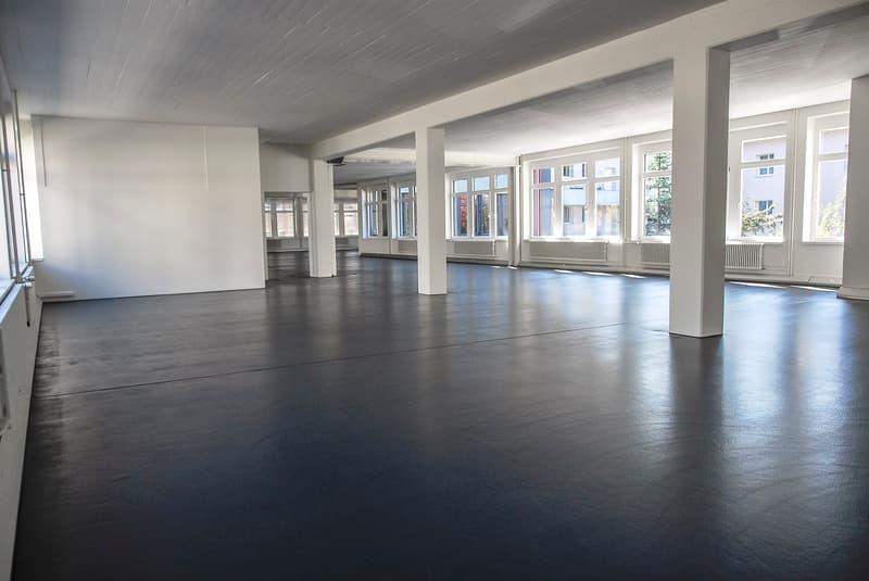 Loft-artige Büroräumlichkeiten an zentraler Lage in Zürich-Wipkingen