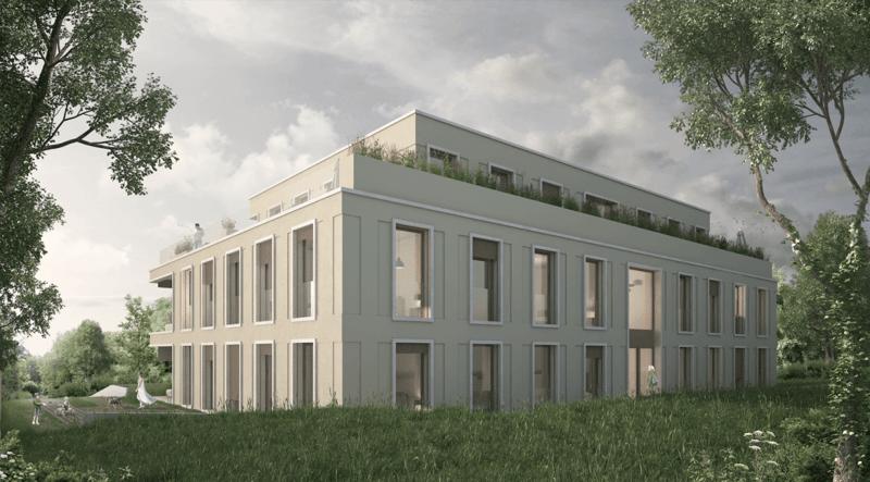 Appartement neuf de 219 m2 pondérés (1er étage)