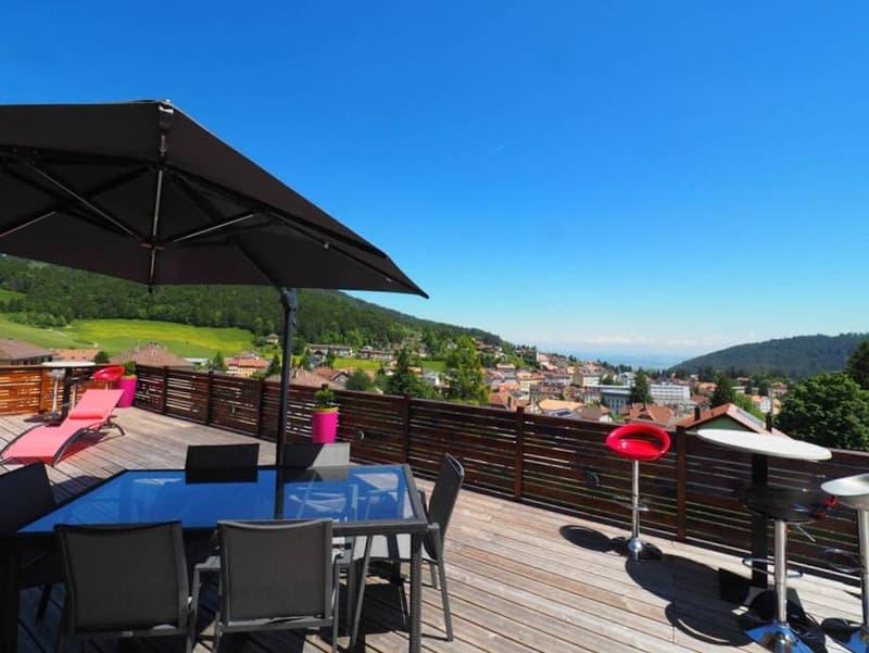 Très belle villa individuelle avec vue panoramique