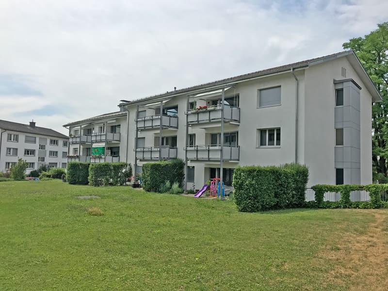 Geräumige Familienwohnung im Grünen