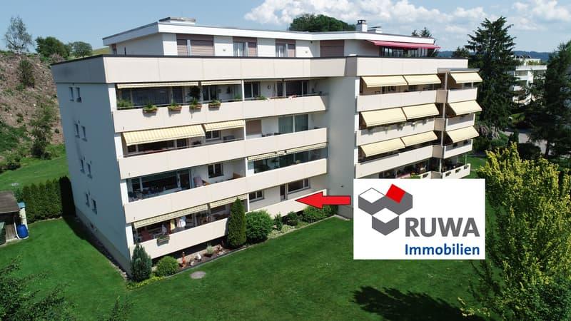 Praktische 4.5 Zimmer Parterre- Wohnung in Kirchberg