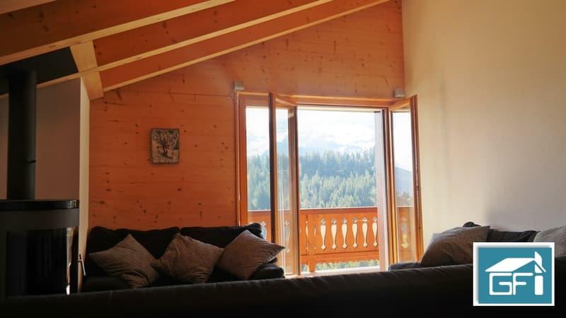 Charmant appartement près des pistes de ski avec une magnifique vue