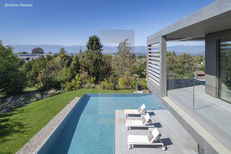 superbe villa contemporaine vue lac