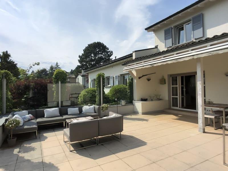 Maison classique rénovée, piscine,  centrale, sans nuisances (4)