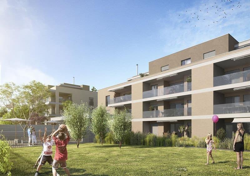 Erstvermietung 3.5 Zi-Wohnung mit Pool und Wellness und Fitnessraum