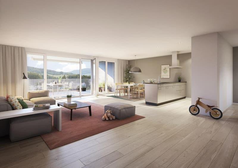 Erstvermietung 2.5 Zi-Wohnung mit Pool und Wellness/Fitnessraum (3)