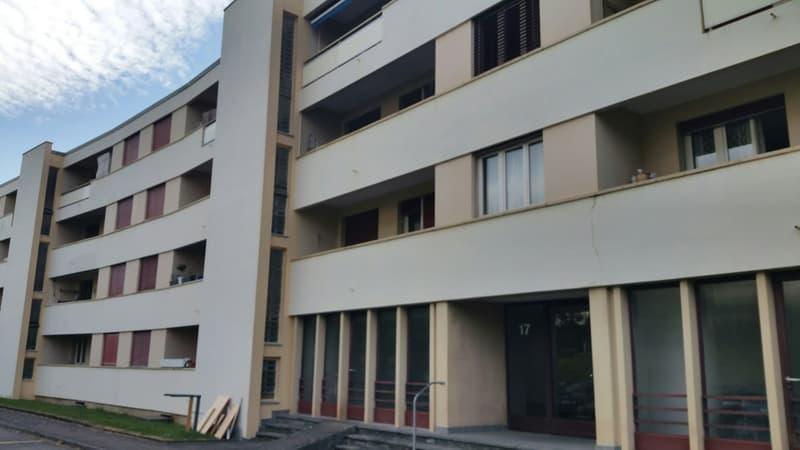 Appartement de 3 pièces au 1er étage.