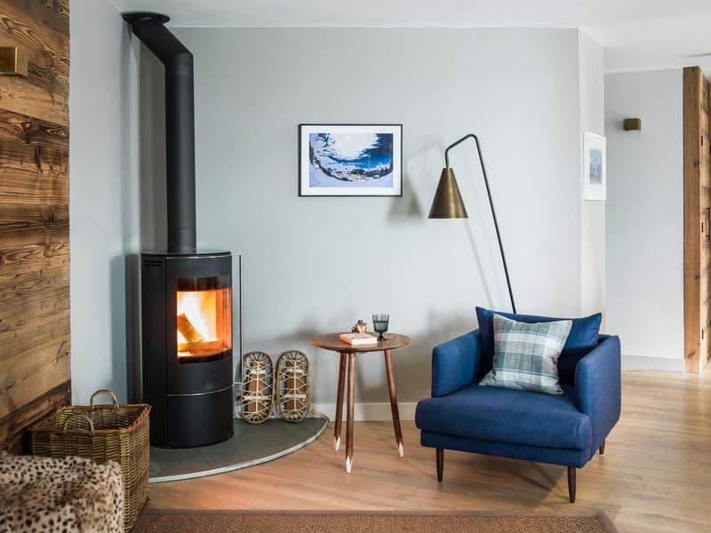 Wonderful 3 bedroom apartment located near Le Moulins ski piste