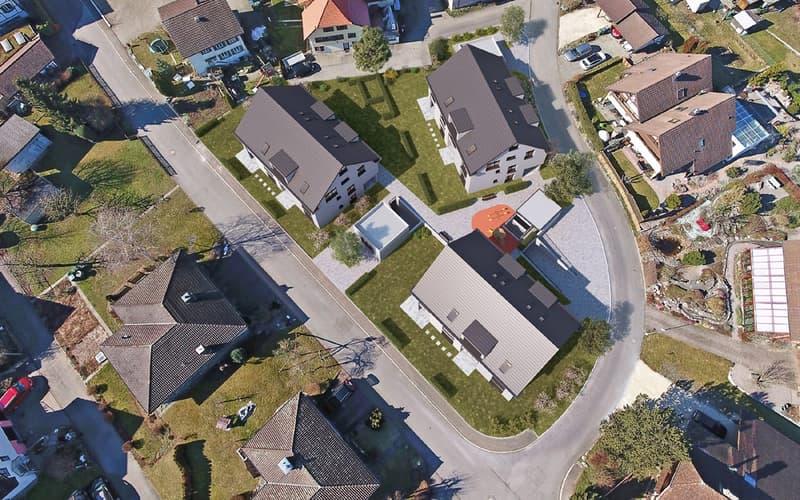 Moderne Eigentumswohnungen an idyllischer Lage mit grosszügigen Nebenflächen
