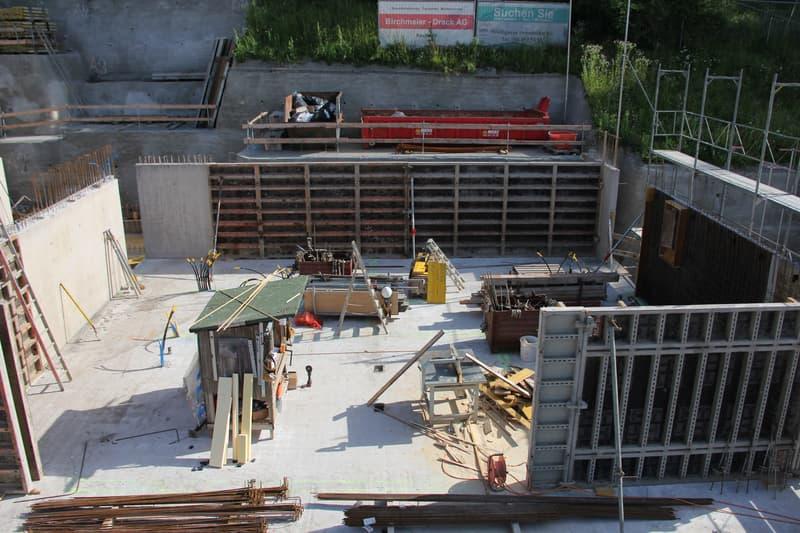 Baustart erfolgt -Terrassenhaus mit Garten