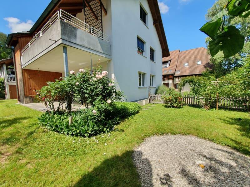 Grosszügige 4.5-Zimmer-Gartenwohnung an ruhiger und doch zentraler Lage vor den Toren von Aarau