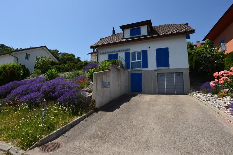 A vendre magnifique villa individuelle à Bevaix
