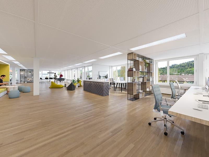 Schnörkellos attraktiv - Büroflächen in Ostermundigen | ab 90 m2