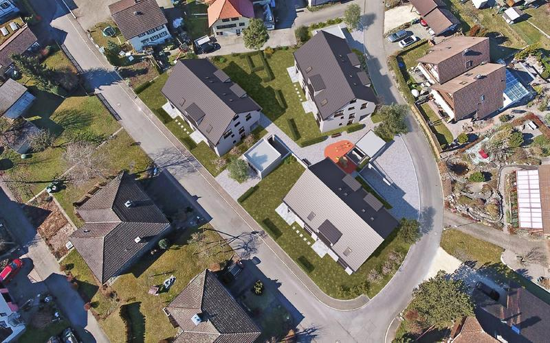 Moderne Eigentumswohnungen an idyllischer Lage mit grosszügigen Nebenräumen
