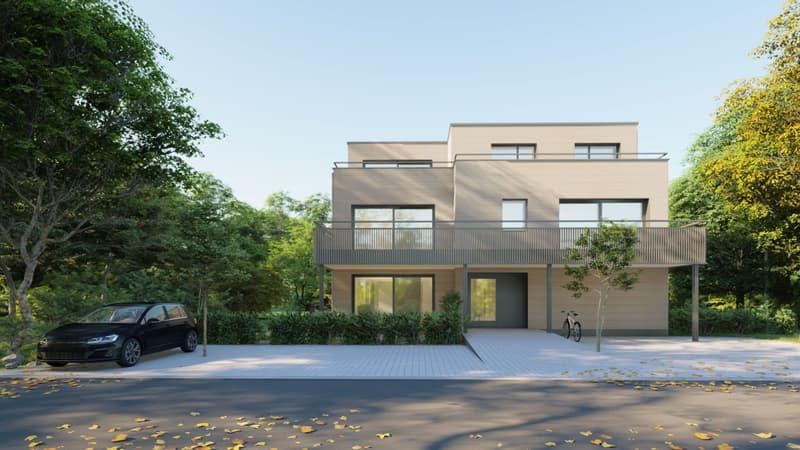 Neubauprojekt in Reinach: Nachhaltige Ausführung in Minergie P ECO