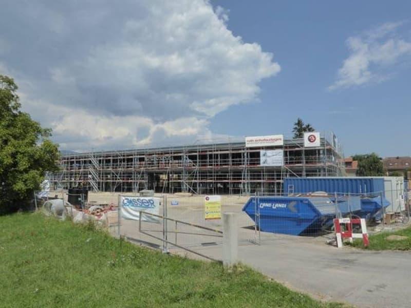Nouvelle construction de 13 halles