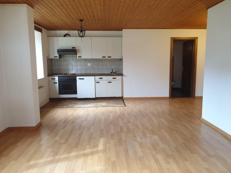 très jolie appartement de 2.5 pièces lumineux et spacieux