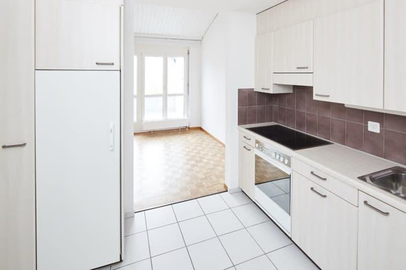 Helle 3.5 - Zimmerwohnung im Dachgeschoss zwischen Glatt und Rhein