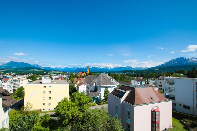Wohnen auf Top-Level - gehobene Attika-Wohnung mit Alpenpanorama