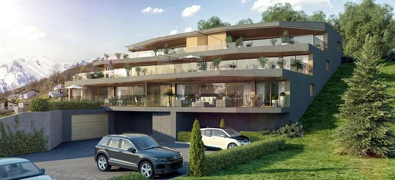 Appartement en terrasse de 2.5 pièces à Savièse-Monteiller