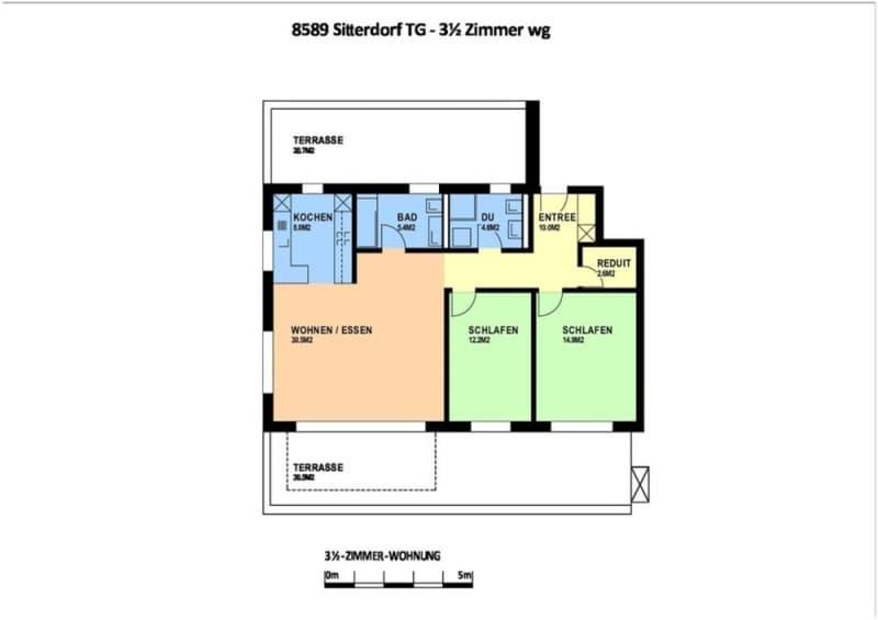 3 1/2 Zimmerwohnung 2. OG in Bischofszell/Sitterdorf (3)