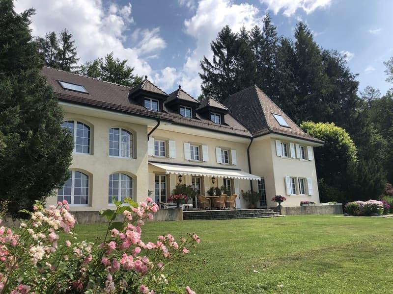 Le luxe... c'est l'espace, la vue, le calme..  à 10 min. de Lausanne (1)