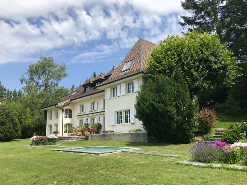Le luxe... c'est l'espace, la vue, le calme..  à 10 min. de Lausanne (2)