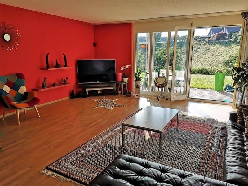 4 1/2-Zimmer-Maisonettewohnung im EG mit Terrasse und Balkon 147m2