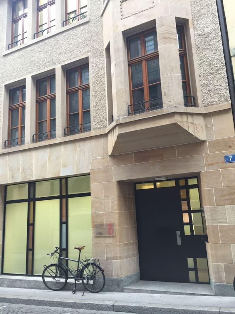 Büro- oder Praxisräumlichkeiten in der Basler Innenstadt