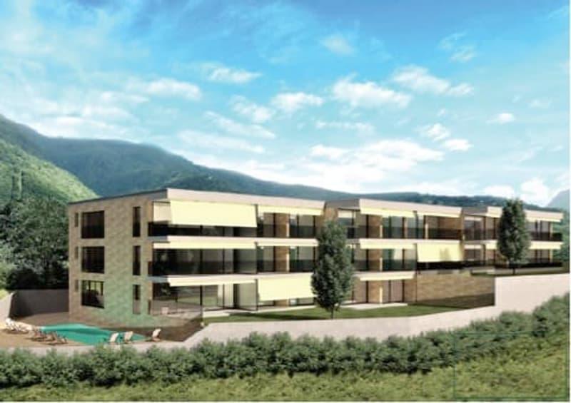 Nuova residenza vista lago con palestra e piscina