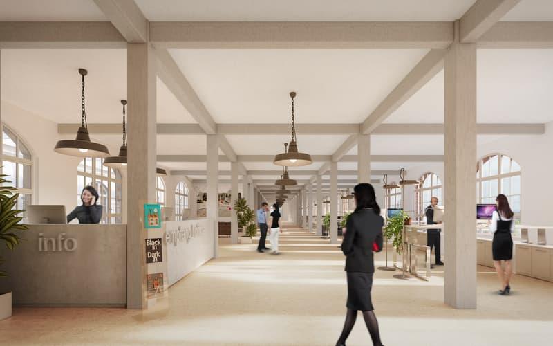 Moderne Dienstleistungsflächen mit industriellem Flair im Hamel-Gebäude